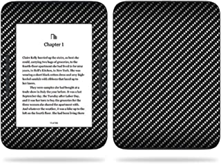 MightySkins Skin Compatible With Barnes & Noble NOOK GlowLight 3 (2017) - Carbon Fiber | Protective, Durable, and Unique Vinyl Decal wrap cover | Easy To Apply, Remove | Made in the USA