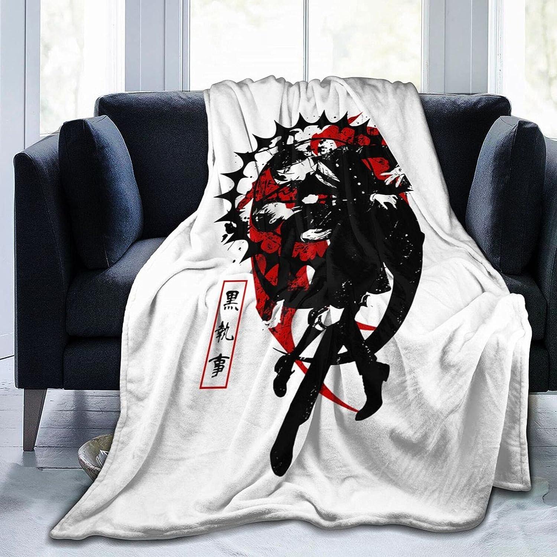 Anime Black Butler Ciel Phantomhive Max San Francisco Mall 44% OFF Blanket Michaelis Sebastian