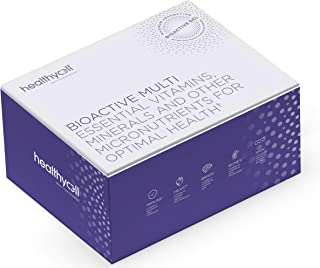 Liquid Gel Multivitamin - Healthycell Bioactive Multi   for Women, Men   Vitamin D3, B12, A, E, K, C, B Vitamins, Antioxid...