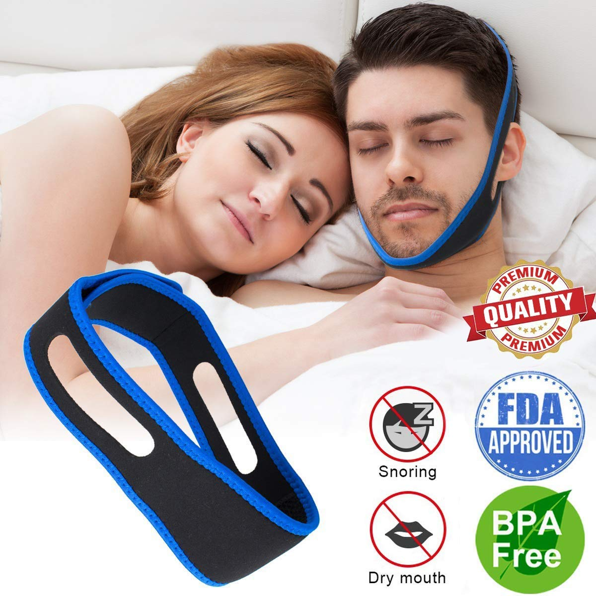 Ajustable Solution Reduction Sleeping Breathers