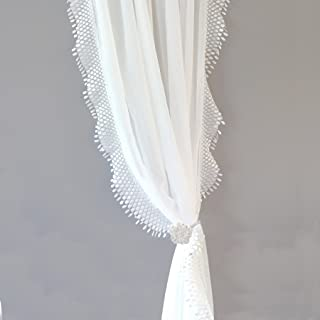 Best white boho curtains Reviews
