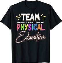 Physical Education Team T Shirt P.E. Teacher School Gift T-Shirt