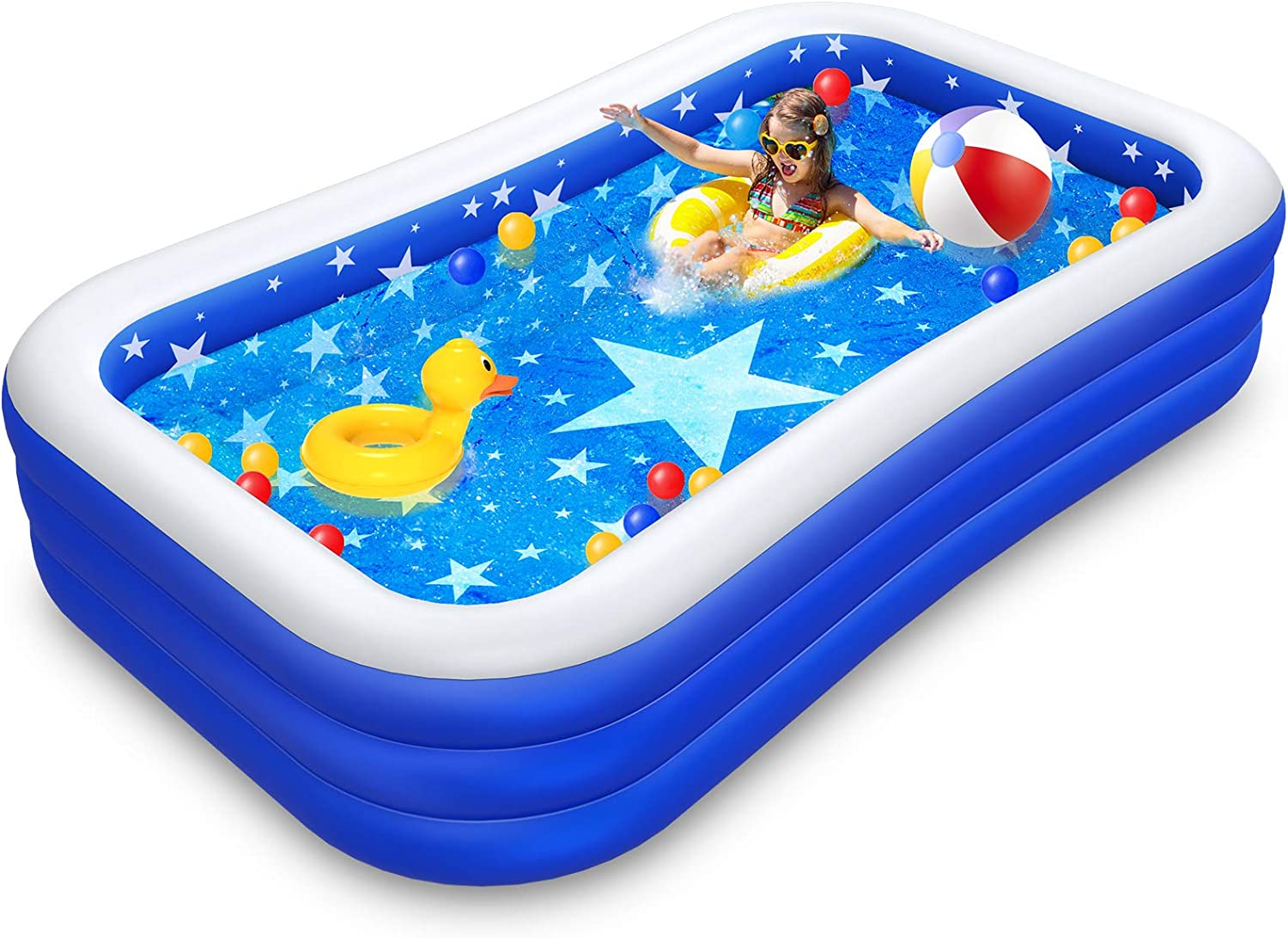 Inflatable Pool Mesa Mall Family Swimming for Kids Max 77% OFF Infant Adults