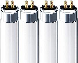 FP21/841/ECO (4 Pack) 21 Watt T5 Fluorescent Tube Light Bulb 21W Cool White 4100K F21T5 Replaces F21T5/CW FL21/T5/841 F21T...