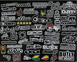Sticker DUB Adhesive Decal Vynil Tuning JDM  Car Motor Scooter Window Automotive