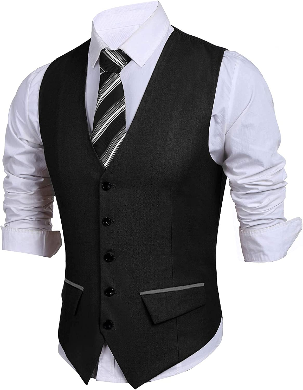 JINIDU Mens Suit 5% OFF Vest Slim Fit Popular brand Wedding Vests Dress Wais Business