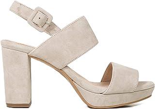 1f2091b0 Zapatos miMaO. Zapatos Piel Mujer Hechos EN ESPAÑA. Sandalia Plataforma  Mujer. Sandalia Tacón