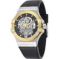 Maserati Potenza Automatic Skeleton Dial Men's Watch (R8821108037)