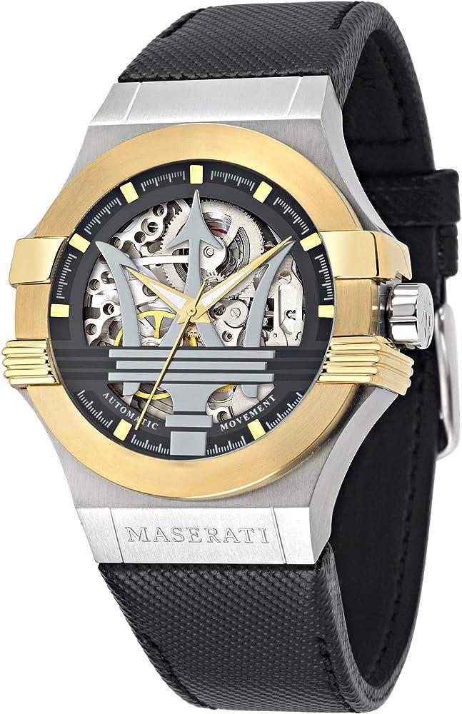 Maserati Orologio da Uomo Analogico Automatico 8033288715009