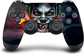 PS4 DualShock wireless Controller Pro console - Newest PlayStation4 Controller with Soft Grip & Exclusive Customized Version Skin (PS4-Joker )