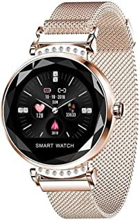 hwbq Vrouwen Smart Horloge met Call Reminder Sport Stappenteller Smart Horloge Armband Ondersteuning Bluetooth-A