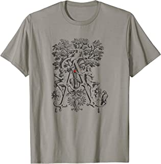 Adam And Eve Tree of Life Shirt Devil And Forbidden Fruit