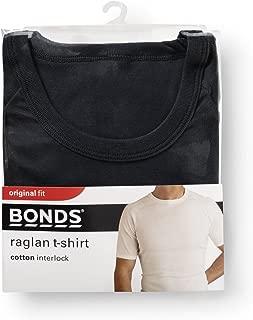 Bonds Men's Cotton Blend Raglan Cut T-Shirt