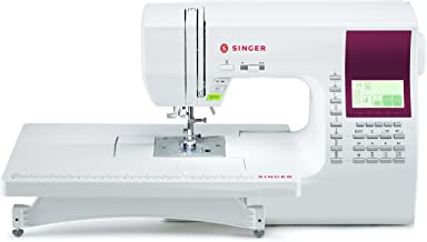 SINGER   8060 600-Stitch Computerized Sewing Machine with Extension Table and Hard Cover