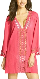 EXCELLENT QUALITY - Our lace cover up is made of 100% polyster. 100% brand new & high quality  Superior in material and excellent in workmanship makes skin very cool in hot weather.