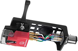 Audio-Technica AT100E/HSB Headshell/Cartridge Combo Kit (AT100E Cartridge and AT-HS10BK Headshell)