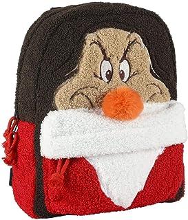 Mochila Casual Moda Pelo Mickie Disney Enanitos, 34 cm