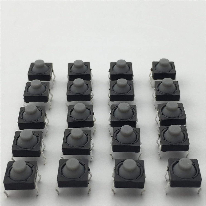 Houston Mall JSJJAUA Micro Switch Max 86% OFF 20pcs lot Conductive Silic G77 8x8x5MM 4PIN