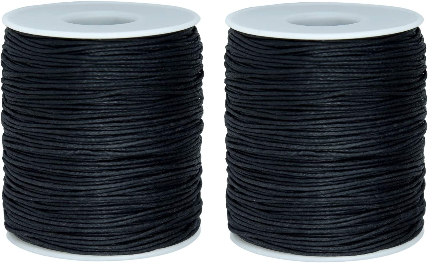 Dxhycc 200 Yards 1mm Waxed Super sale Cotton Cord Max 90% OFF Thread Beading String for