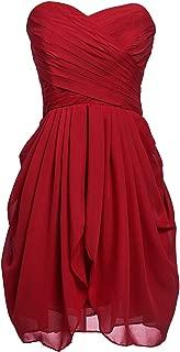 Sarahbridal Women's Short/Long Bridesmaid Dressrom Gownsleats