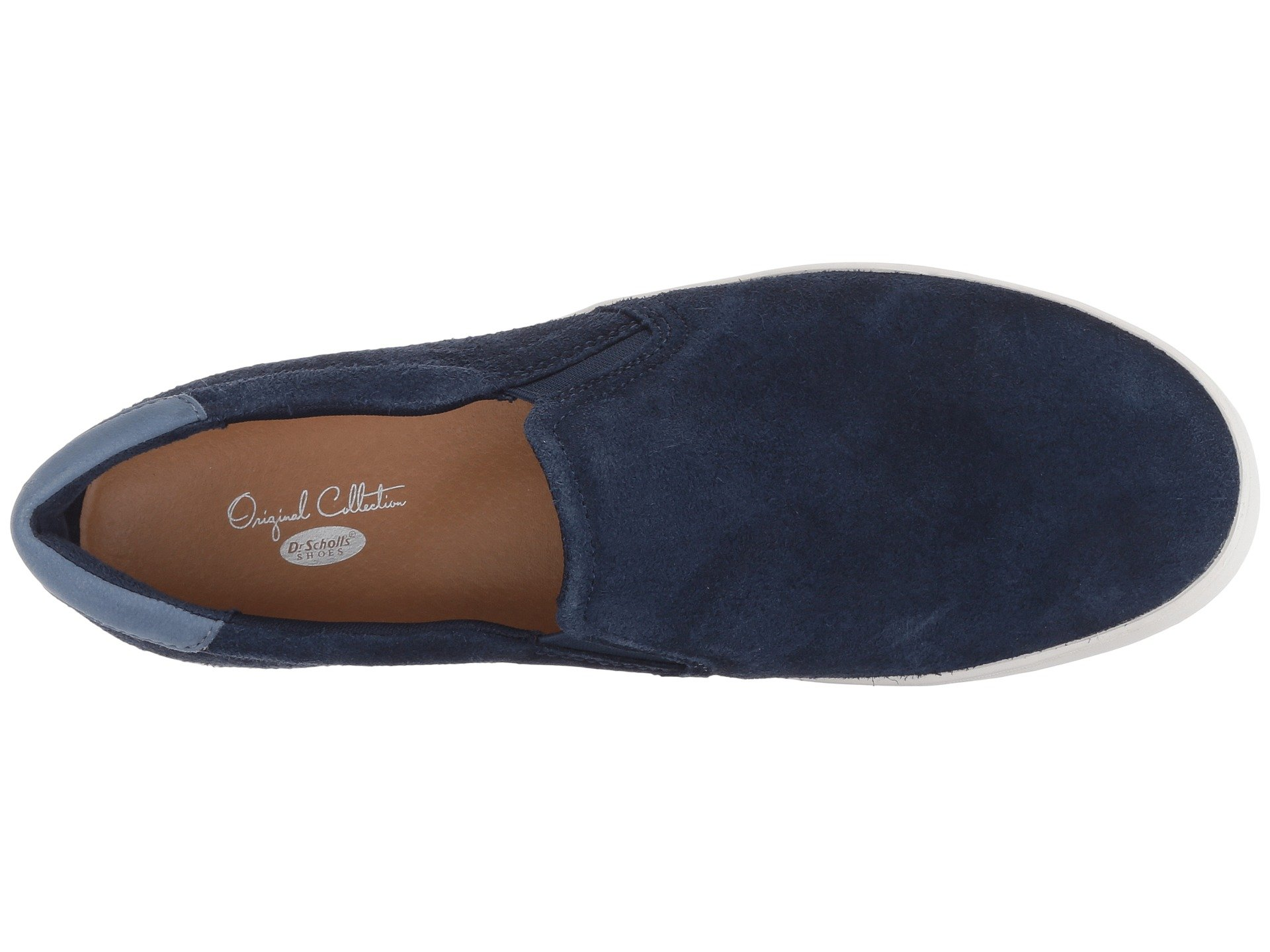 Leather Navy Scout Original Rough Dr Scholl's Collection qgwYZxnPU