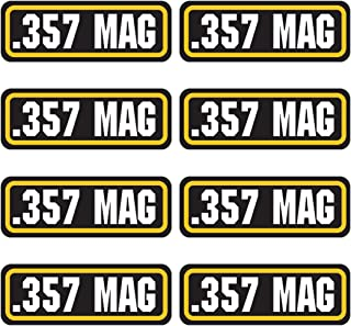 AZ House of Graphics 357 MAG Ammo Sticker 8 Pack