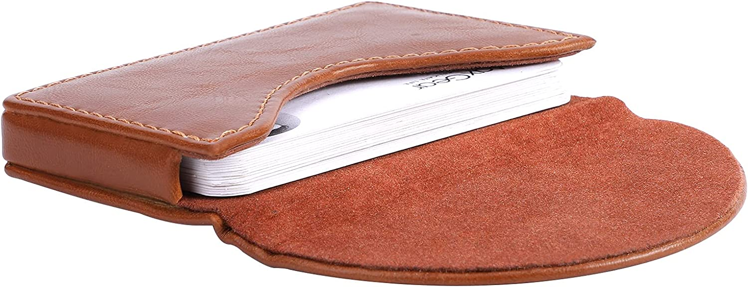 MaxGear Popular Business Card Holder PU Case OFFicial shop Pock Leather