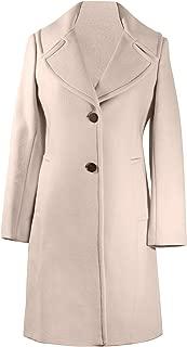 Pearl Gray Wool Coat