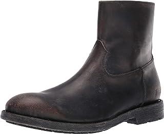 حذاء برقبة أنيقة بسحاب من FRYE للرجال