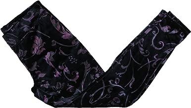 HUE Floral Print Women's Juliet Velvet Leggings