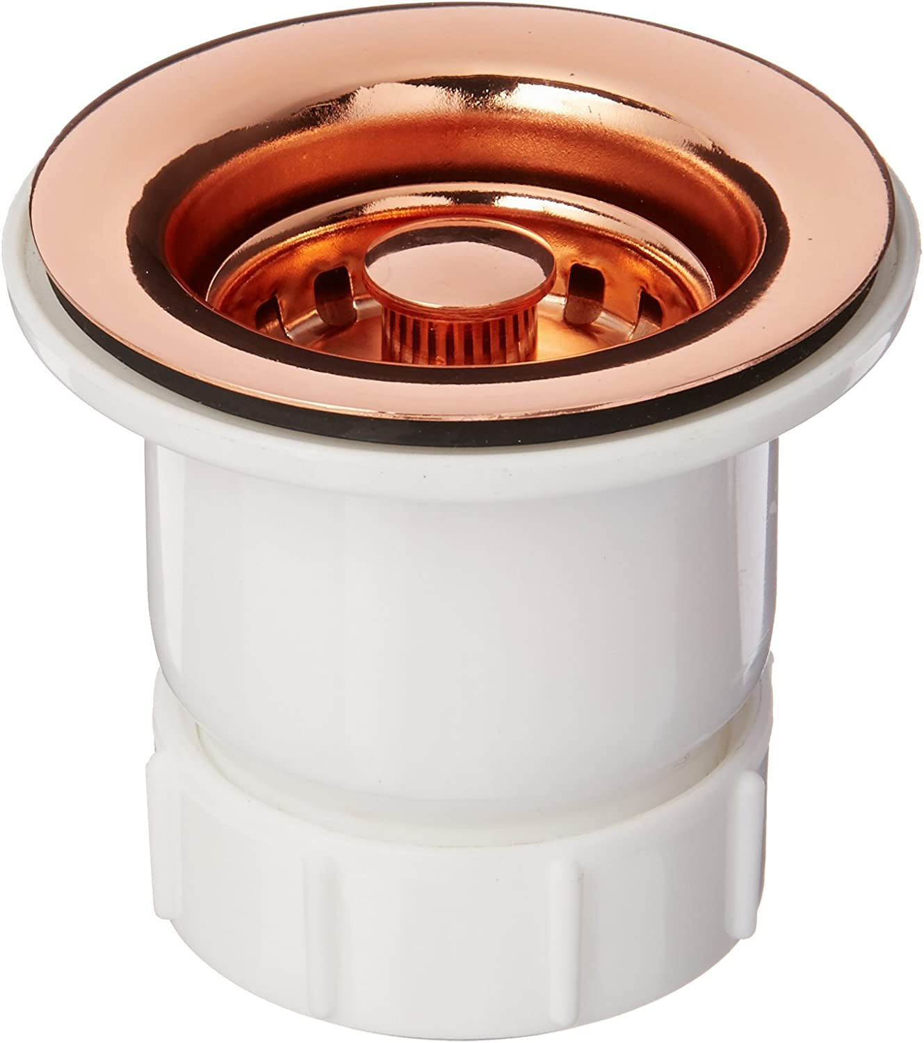 Whitehaus Collection 2 inch Basket Strainer-Polished Copper-WC2BASK-CO