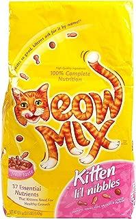 Meow Mix Kitten Li'L Nibbles, 3.15-Pound