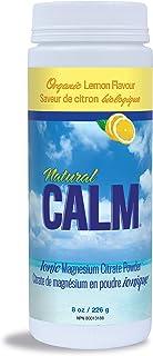 NATURAL VITALITY Lemon Natural Calm Ionic Magnesium Citrate Powder, 8 OZ