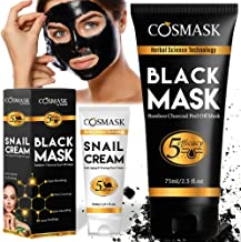 Best black bamboo charcoal peel off mask Reviews