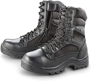 "HQ ISSUE Men's Waterproof 8"" Side Zip Desert Boots"