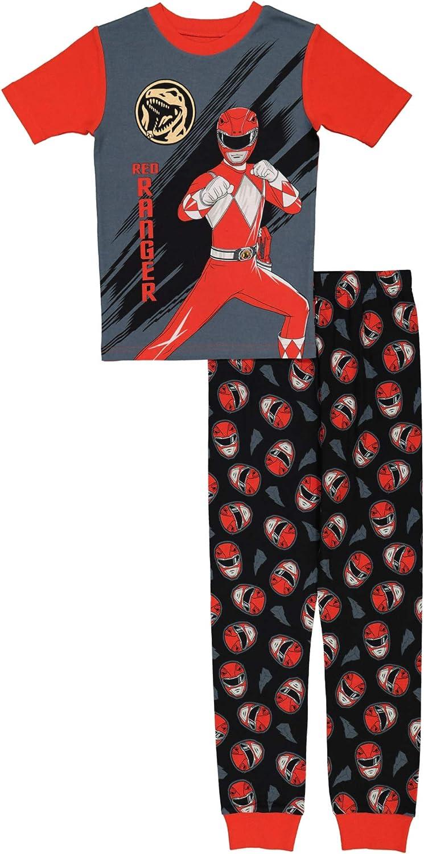 Power Rangers Boys' Snug Fit Cotton Pajamas