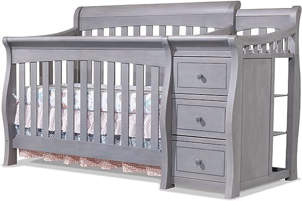 Sorelle Tuscany Crib And Changer Weathered Gray