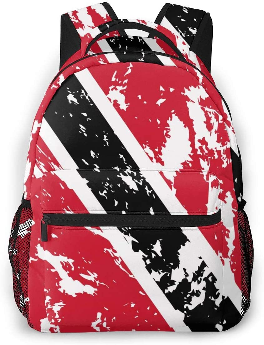 Durable Polyester Backpck Trinidad And Hiking Tobago 55% OFF Travel Flag Sales results No. 1