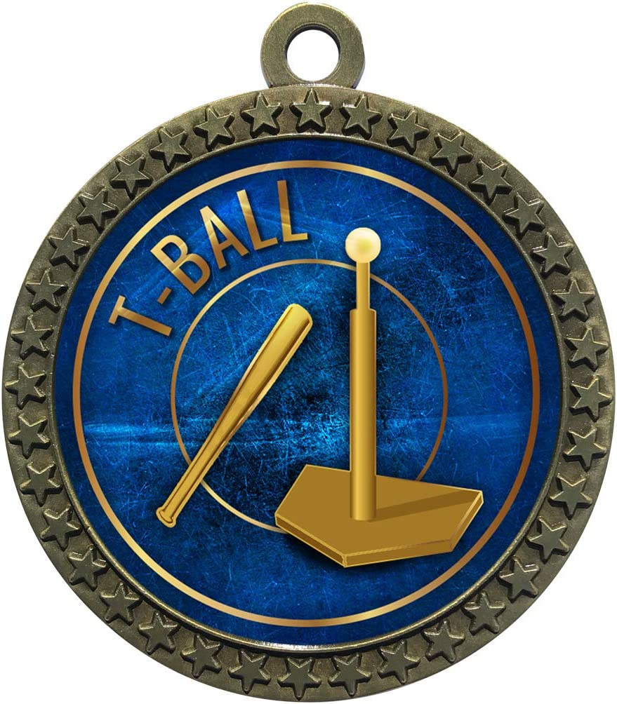 Express Medals 1 to 50 Packs T Gold Tee Popular Memphis Mall products Ball Trophy Medal A
