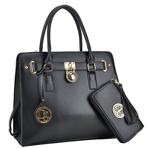 Lightweight Large Capacity Women Handbag, Medium Top Handle Satchel Multi Pockets Designer handbags Purse Tote