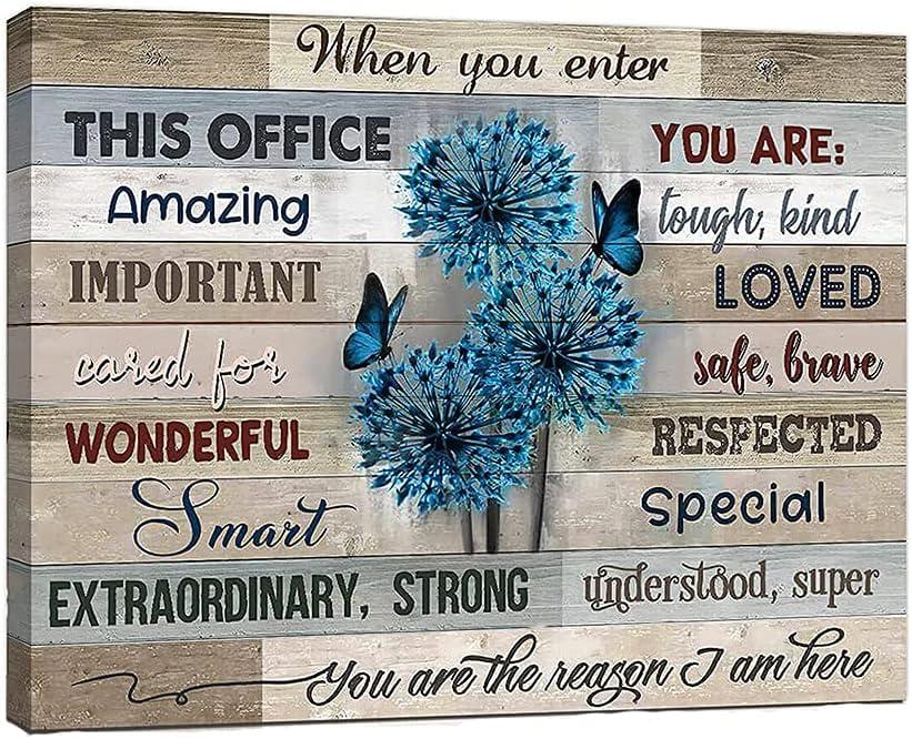 Flower Tree Inspirational SALENEW very popular Wall Office Motivational For Art Luxury
