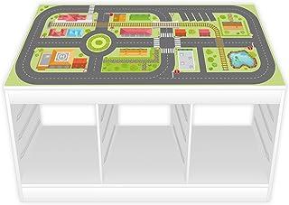 comprar comparacion nikima–Parte pantalla/Muebles Protector de pantalla para Ikea Trofast Ciudad vida Pegatina para habitación de los Niños ...