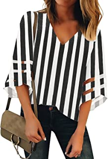 Best blouse white and black Reviews