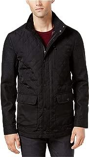 Ryan Seacrest Distinction Mens Mix-Media Quilted Jacket