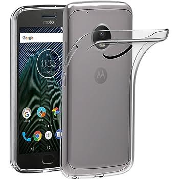 ivoler Funda Carcasa Gel Transparente para Lenovo/Motorola Moto G5 ...