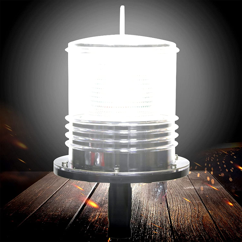 EnweKapu Dinghy Lights Ship Indicator Light Solar Energy Max 47% Ranking TOP9 OFF Anti-
