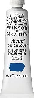 Winsor & Newton 1214263, French Ultramarine Artists' Oil Colour Paint, 37ml Tube, 37-ml
