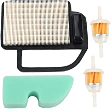 Milttor 20 883 06-S1Air Filter with Pre Filter Fuel Filter Fit Kohler 20 083 02-S 20 083 06-S SV470-SV620 Carb Engine Lawn Mower 20-083-02-S