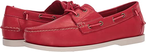 Red Dip-Dye Leather