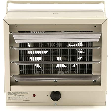 Fahrenheat FUH Electric Heater for Garage, Factory, Basement, Warehouse, and Outdoor Use, Beige (Renewed)